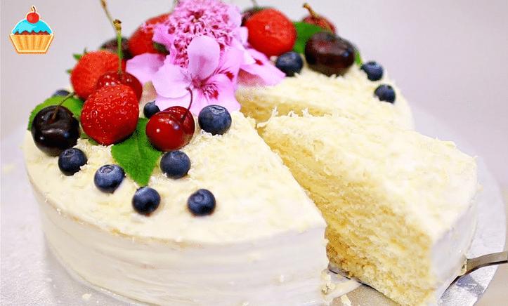 Как украсить торт молочная девочка