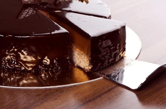 Зеркальная глазурь для торта из какао порошка