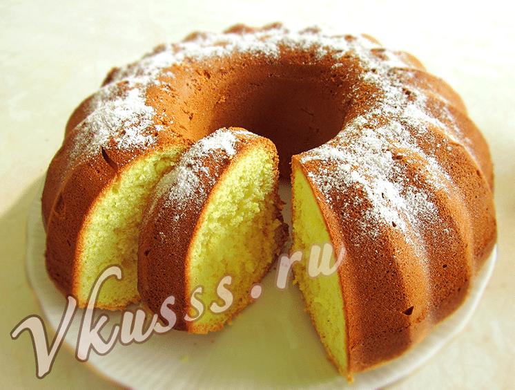 вкусный и пышный бисквит для торта на яйцах