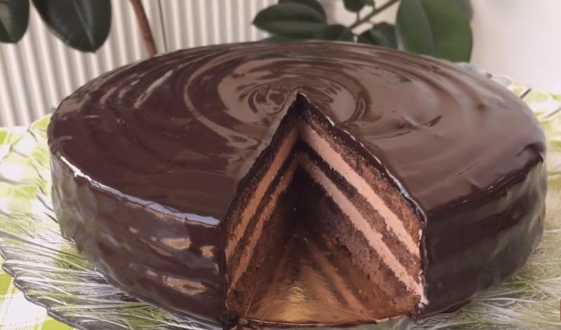 торт прага рецепт с фото пошагово от Ольги Матвей