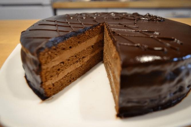 Торт прага — классический рецепт с фото пошагово в домашних условиях