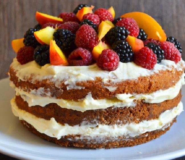 Голый торт