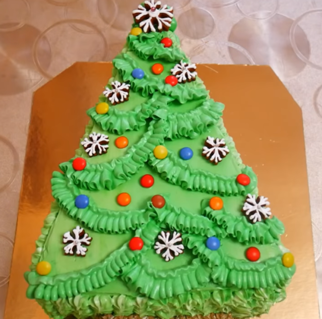 Торт Елочка