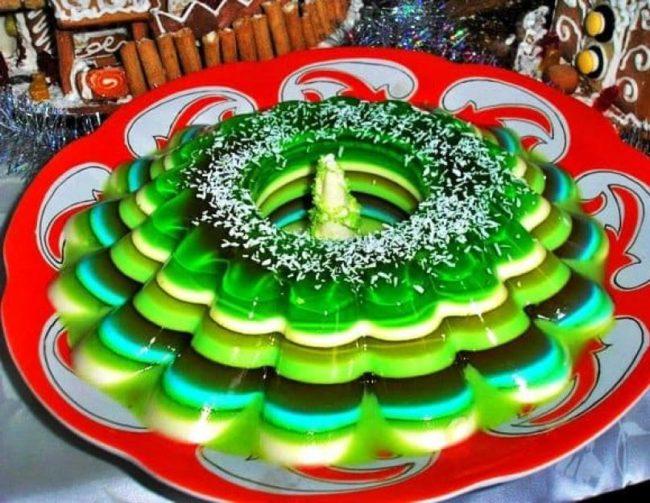 Торт - желе